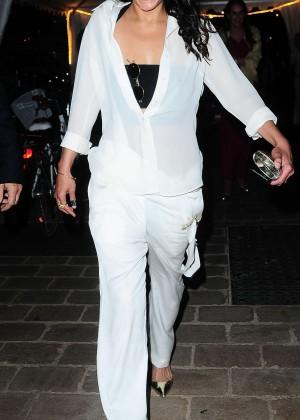 Michelle Rodriguez in White -08