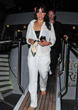 Michelle Rodriguez in White -10