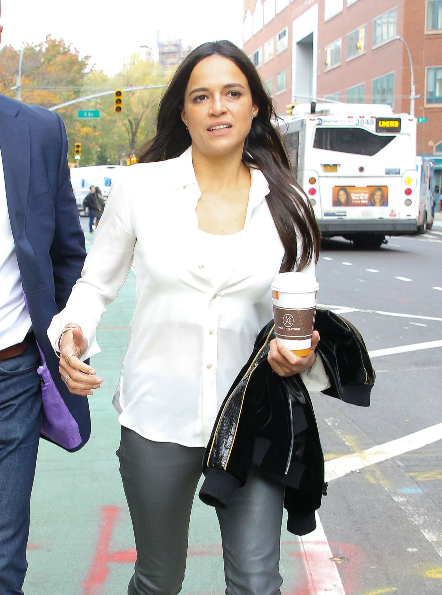 Michelle Rodriguez – Out and about in New York