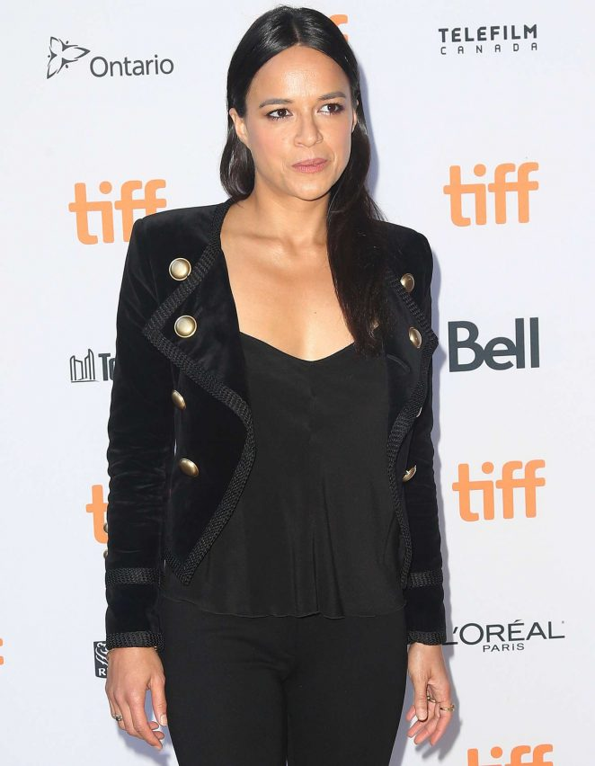 Michelle Rodriguez - '(re) Assignment' Premiere at 2016 Toronto International Film Festival in Toronto