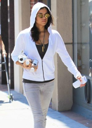 Michelle Rodriguez - Seen Out in Beverly Hills