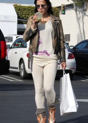 Michelle Rodriguez - Shopping in Los Angeles