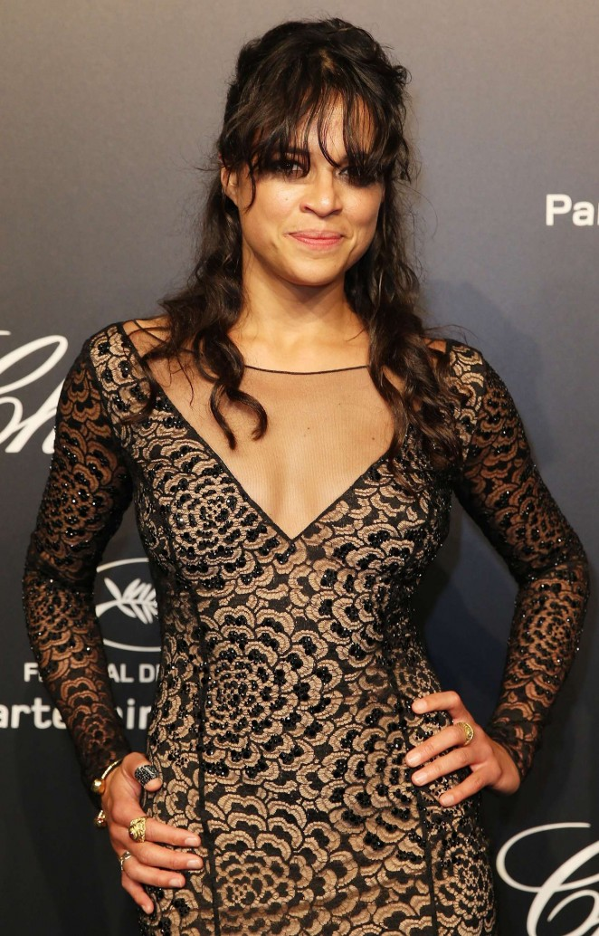 Michelle Rodriguez - Soiree Chopard 'Gold Party' in Cannes