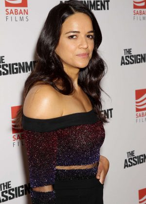 Michelle Rodriguez - 'The Assignment' Screening in New York