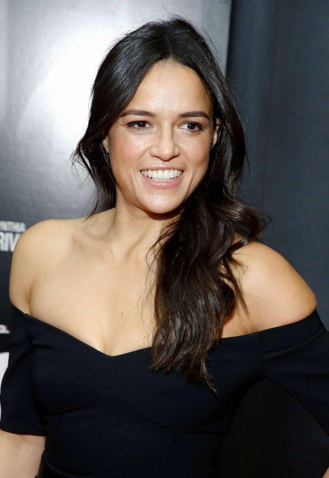 Michelle Rodriguez – 'Widows' Screening in New York