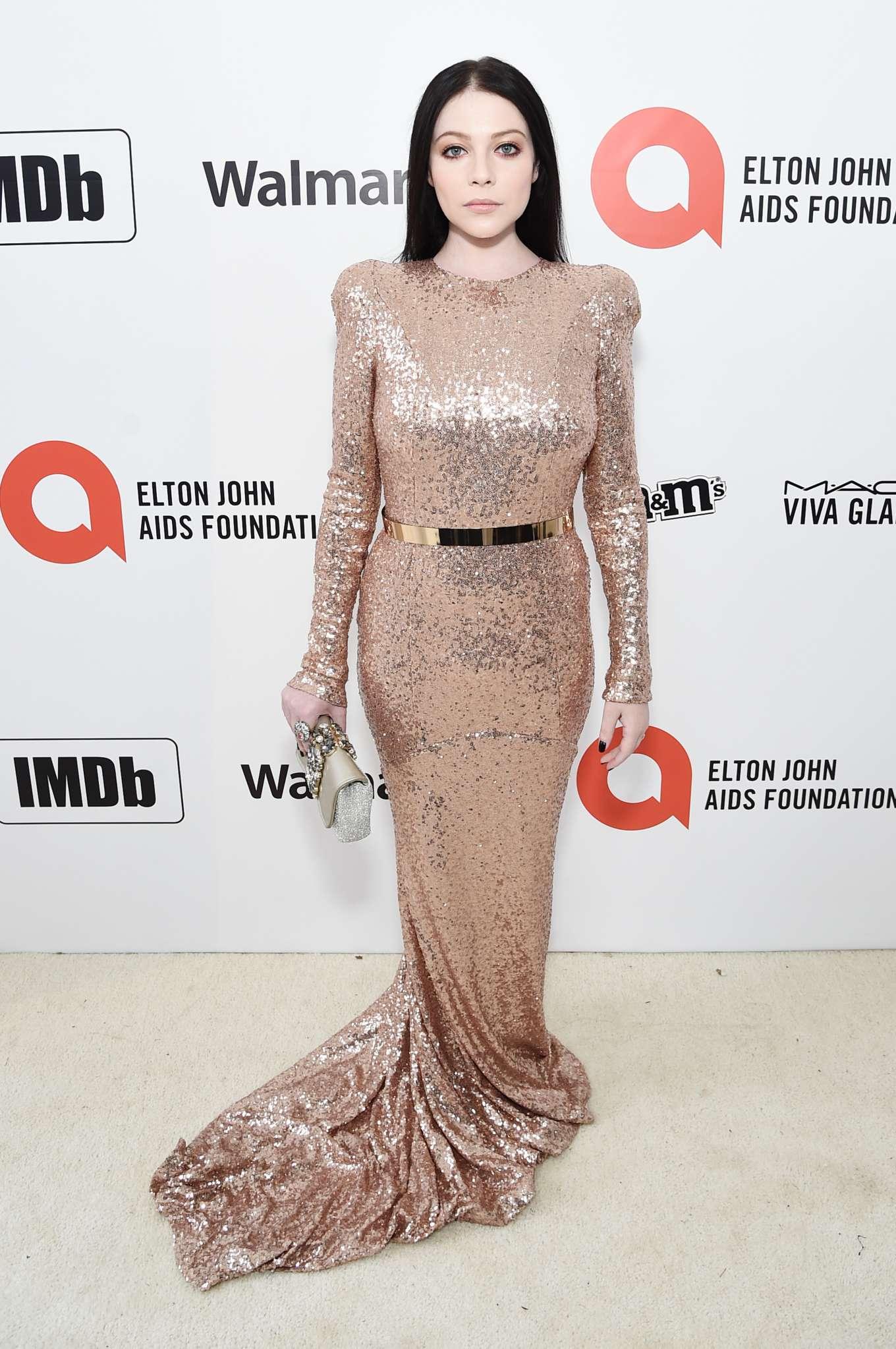 Michelle Trachtenberg 2020 : Michelle Trachtenberg – 2020 Elton John AIDS Foundation Oscar Viewing Party-10