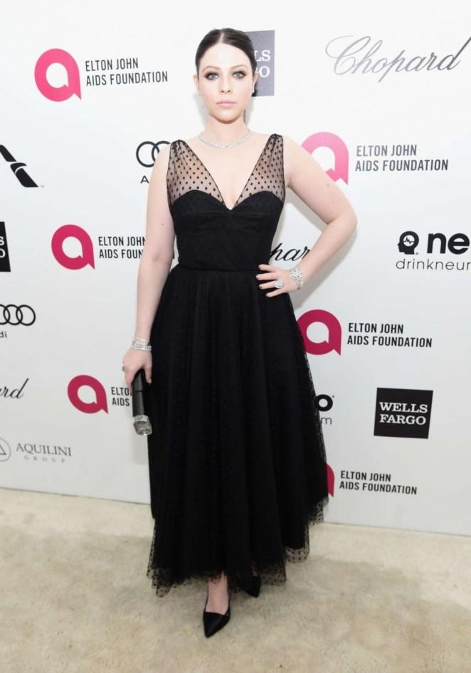 Michelle Trachtenberg - Oscars 2015 - Elton John AIDS Foundation Academy Awards Party