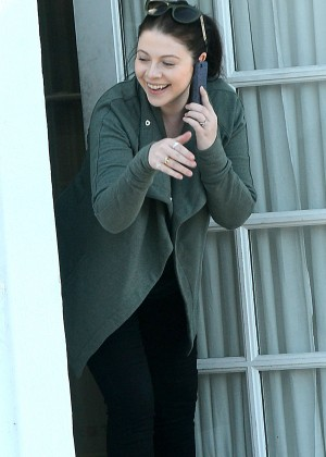 Michelle Trachtenberg at Office in LA