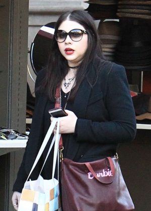 Michelle Trachtenberg at The Grove in Los Angeles