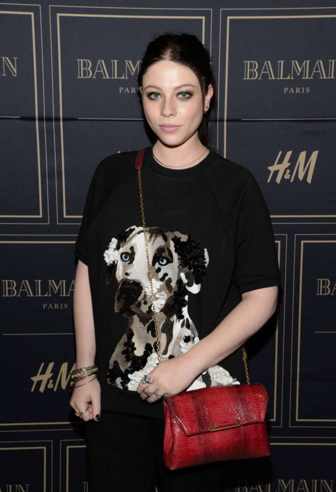 Michelle Trachtenberg - Balmain x H&M Los Angeles VIP Pre-Launch in West Hollywood
