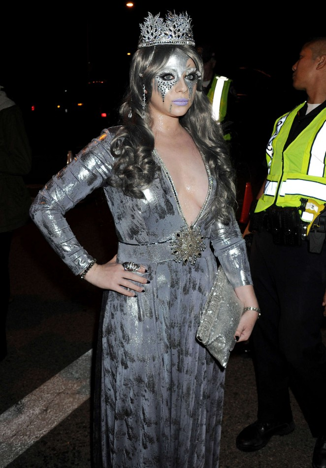 Michelle Trachtenberg - Casa Tequila Halloween Party in Beverly Hills