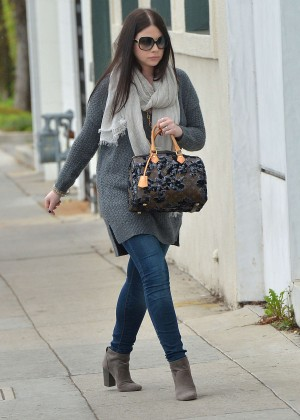 Michelle Trachtenberg - Leaving a private party in LA