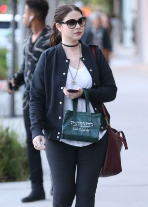 Michelle Trachtenberg Out Shopping in Beverly Hills