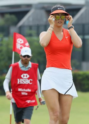 Michelle Wie - 2017 HSBC Women's Champions Round 4 in Singapore