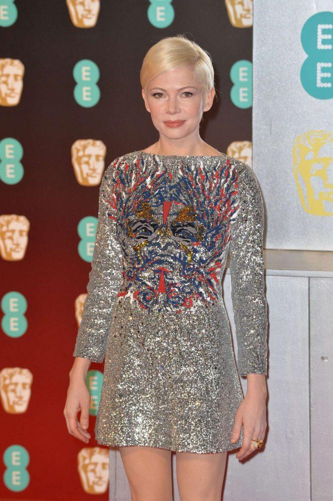 Michelle Williams - 2017 British Academy Film Awards in London