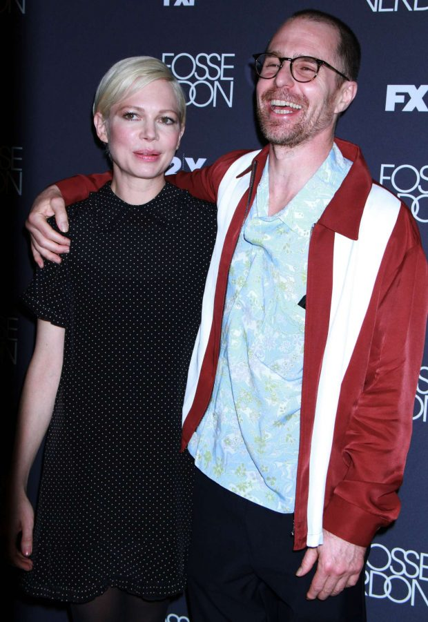 Michelle Williams and Sam Rockwell - 'Fosse/Verdon' Screening and Conversation in NYC