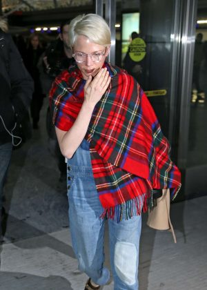 Michelle Williams at JFK Airport in New York
