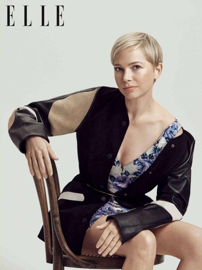 Michelle Williams - Elle UK Magazine (March 2019)