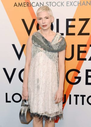 Michelle Williams - Louis Vuitton 'Volez, Voguez, Voyagez' Exhibition Opening in NY
