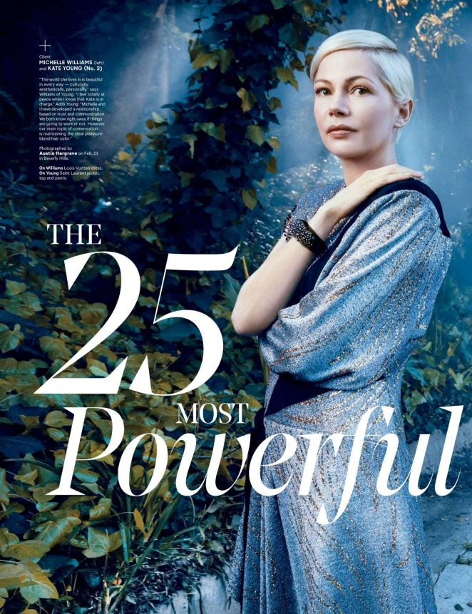Michelle Williams - The Hollywood Reporter (March 2017)