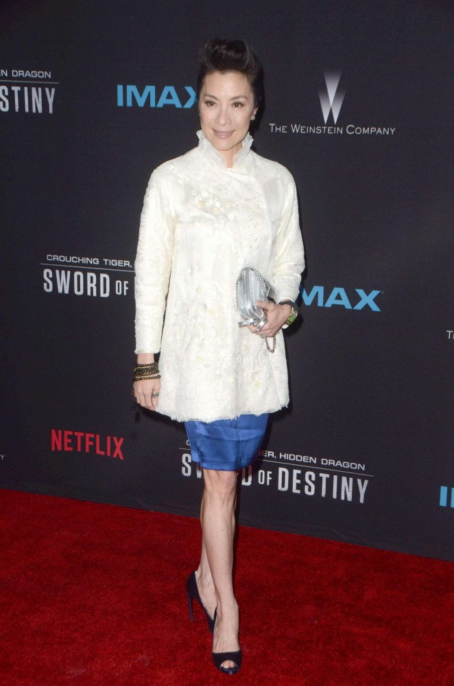 Michelle Yeoh - 'Crouching Tiger, Hidden Dragon: Sword of Destiny' Premiere in Los Angeles