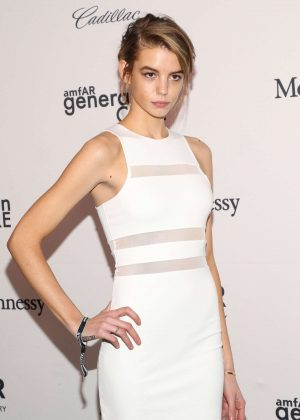 Michi Delane - 2016 amfAR GenerationCure Holiday Party in NY