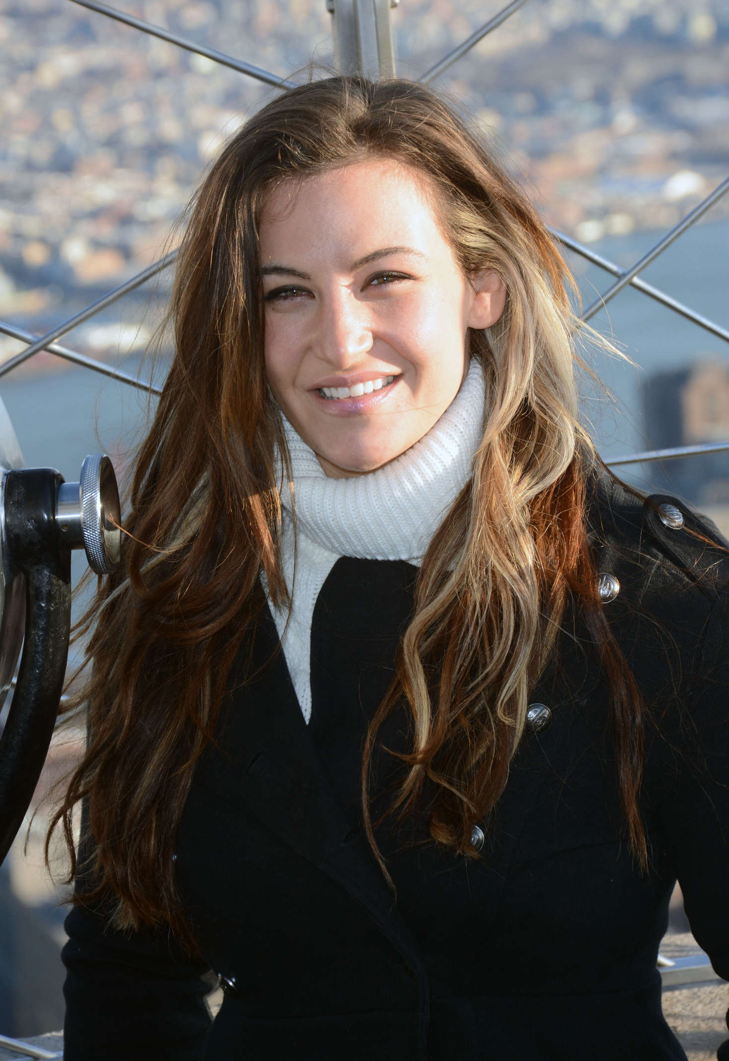 Miesha Tate and Holly Holm: Visit the Empire State Building -17 - GotCeleb