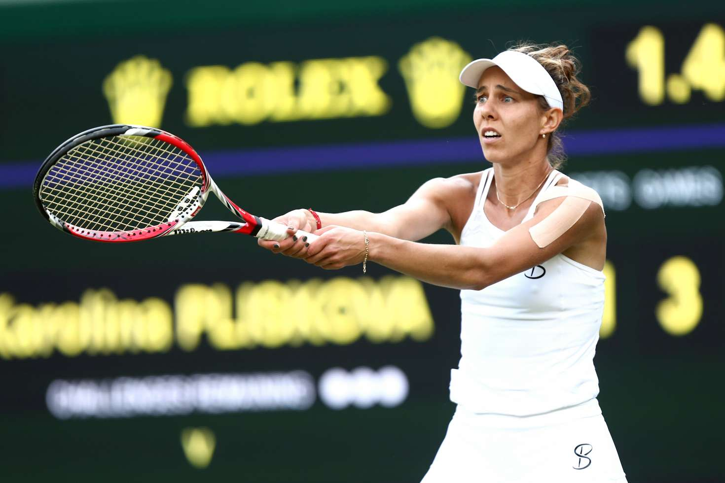 Mihaela Buzarnescu - 2018 Wimbledon Tennis Championships in London Day 5