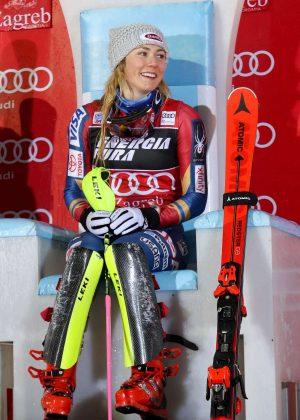 Mikaela Shiffrin - 2018 ALPINE SKIING - FIS World Cup Ladies in Zagreb