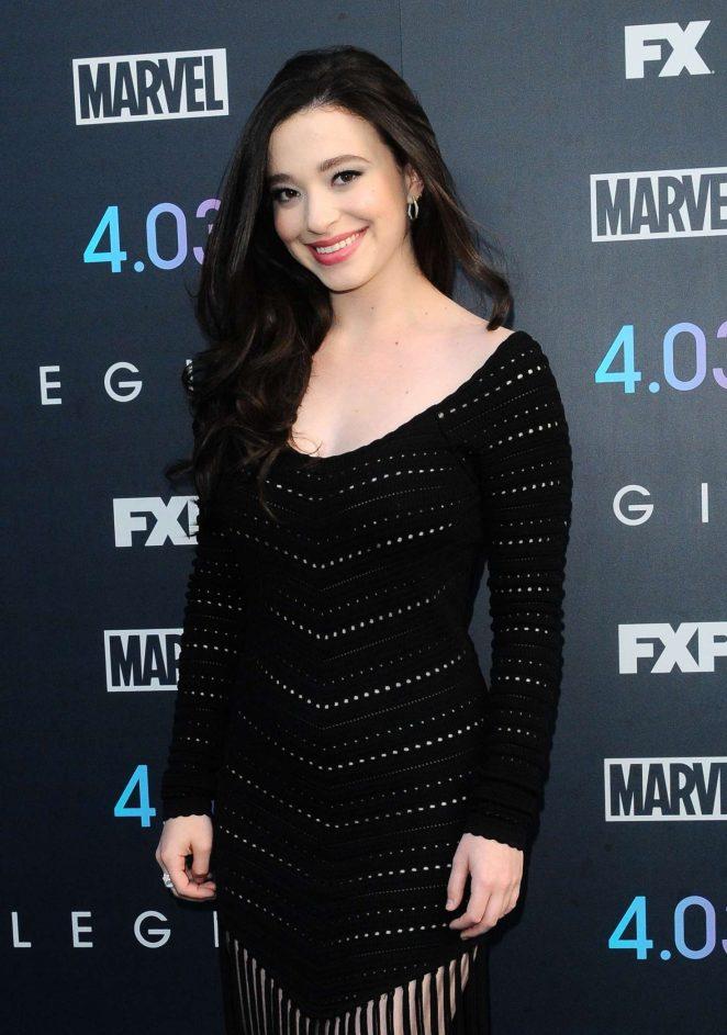Mikey Madison – 'Legion' Season 2 Premiere in Los Angeles