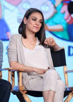 Mila Kunis and Seth Green - FOX 'Family Guy' TV Show Panel in LA