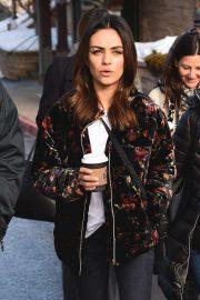 Mila Kunis - Around at Sundance Film Festival in Park City