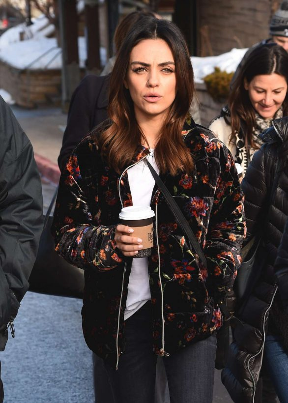 Mila Kunis - Around at Sundance Film Festival in Park City