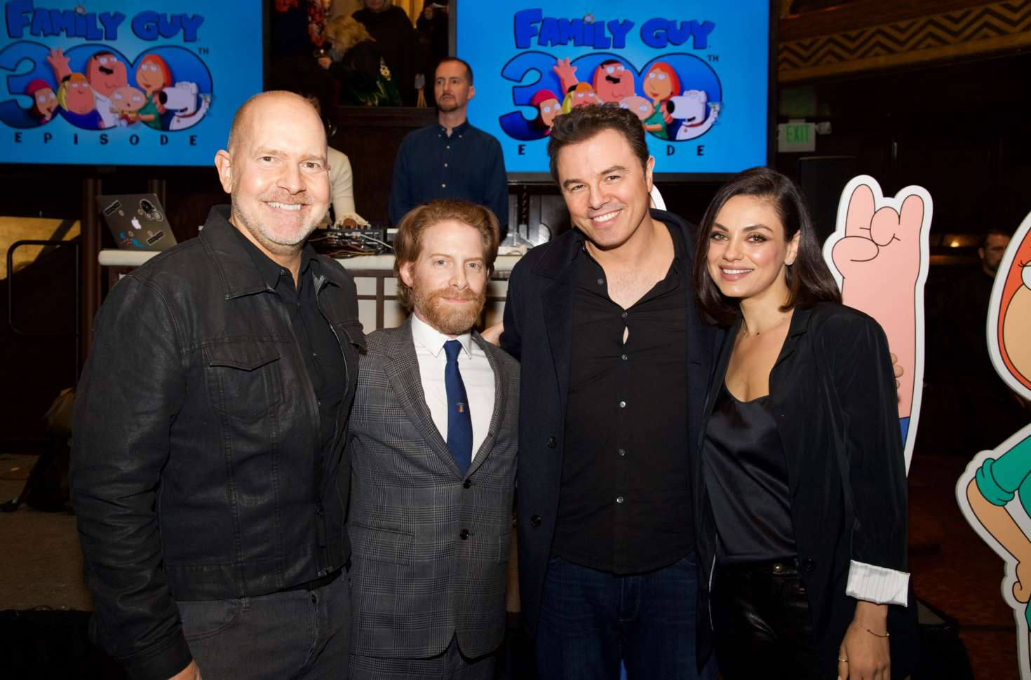 Mila Kunis - Celebration for Family Guy's 300th Episode