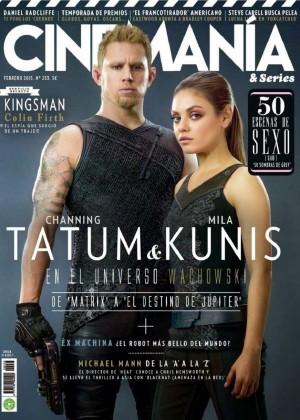 Mila Kunis - Cinemania & Series Spain Magazine (February 2015)