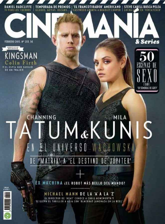 Mila Kunis - Cinemania & Series Spain Magazine (February 2015)