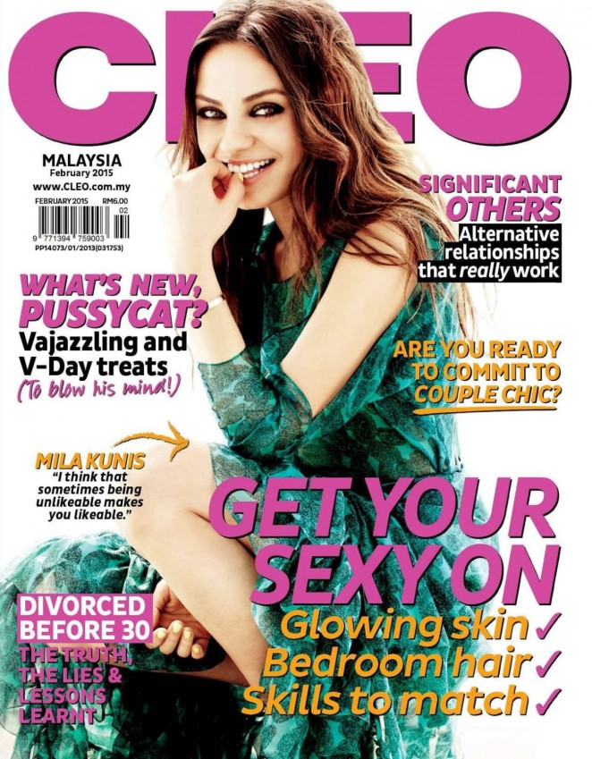 Mila Kunis - Cleo Malaysia Cover (February 2015)