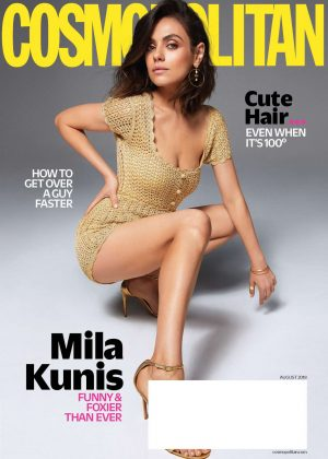 Mila Kunis - Cosmopolitan US Magazine (August 2018)