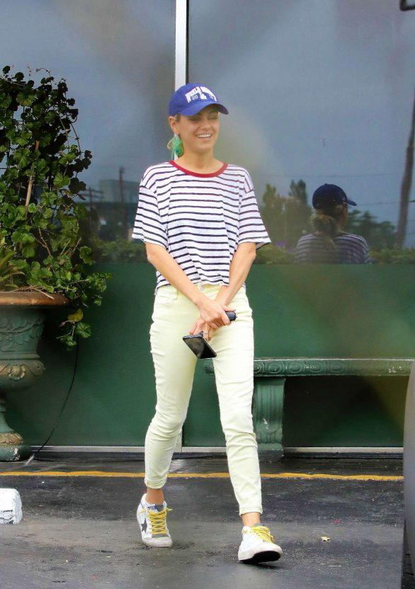Mila Kunis - Exits a Thai Restaurant in Studio City