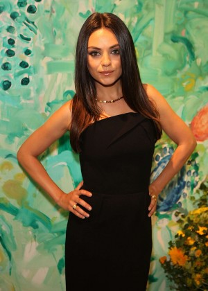 Mila Kunis - Faberge Cocktail Reception in London