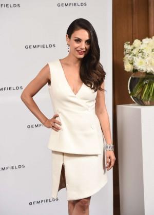 Mila Kunis - Gemfields Launch Event in London