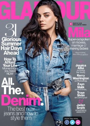 Mila Kunis - Glamour US Cover (August 2016)