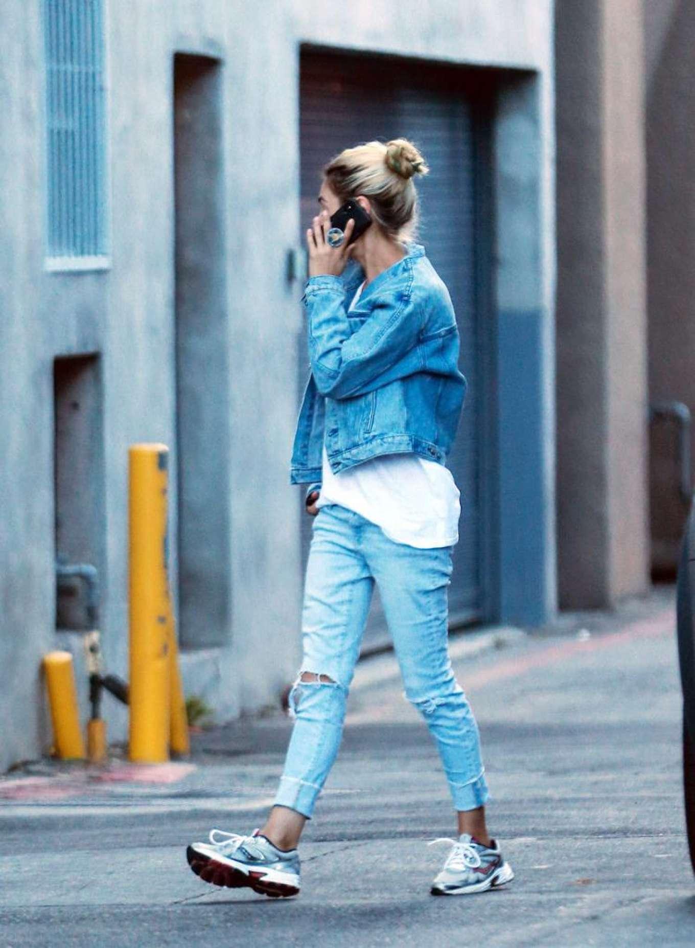 Mila Kunis 2019 : Mila Kunis in Jeans – Out in Los Angeles-03