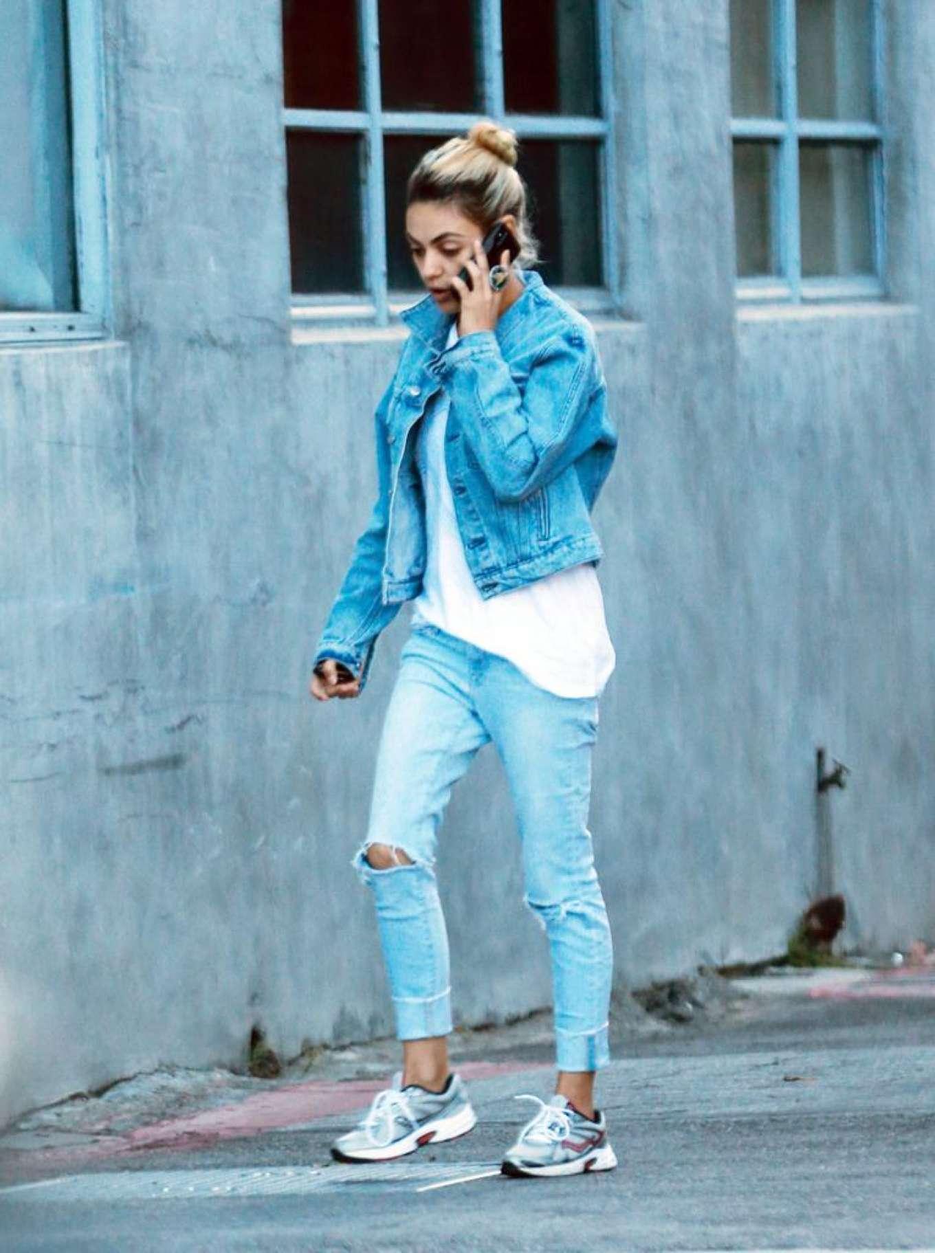Mila Kunis 2019 : Mila Kunis in Jeans – Out in Los Angeles-04