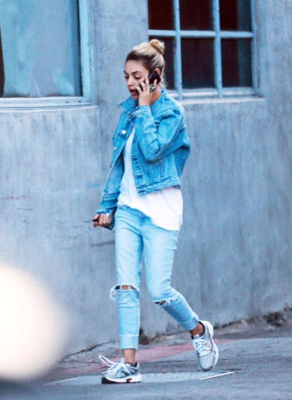 Mila Kunis 2019 : Mila Kunis in Jeans – Out in Los Angeles-05