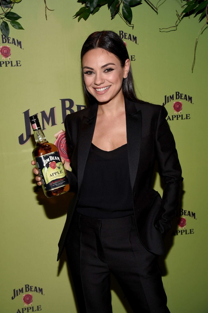 Mila Kunis – Jim Beam Apple Launch Event in New York