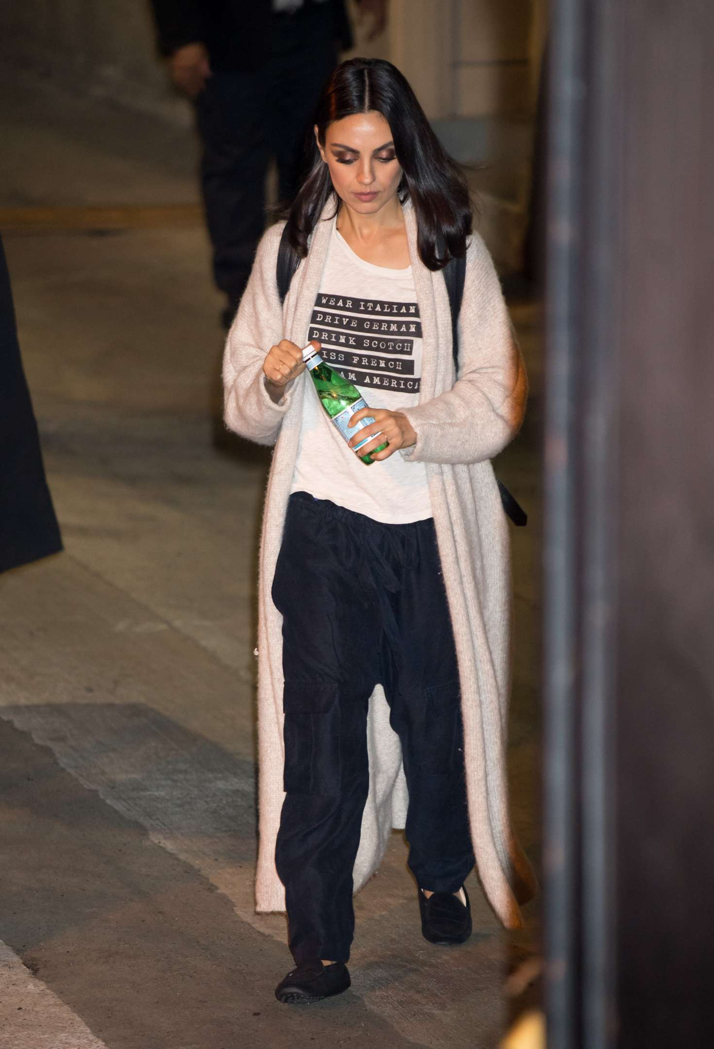 Mila Kunis – Leaving the studio in Los Angeles
