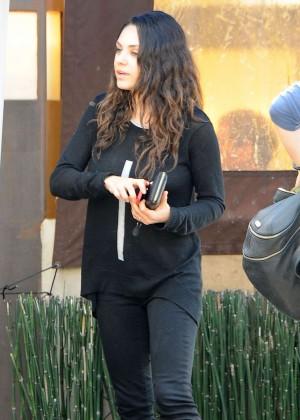 Mila Kunis - Lunch at Kiwami in Studio City