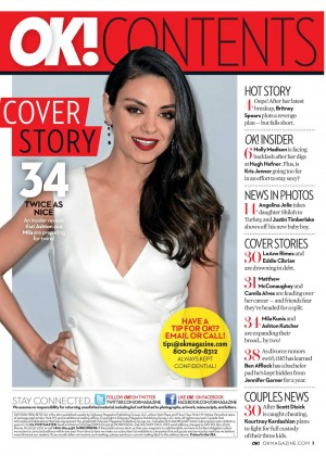 Mila Kunis - OK! Magazine (July 2015)
