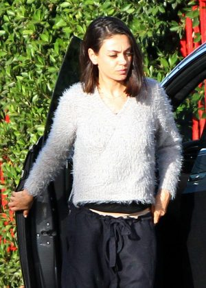 Mila Kunis - Out and about in Los Angeles